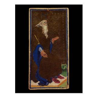 La carte de tarot d'empereur carte postale