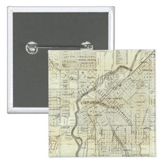 La carte de Thayer de Denver le Colorado Badge