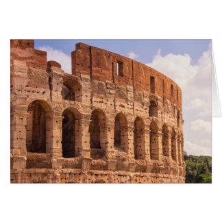 La carte de voeux de Colosseum Rome