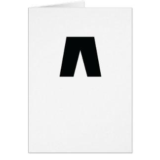 La carte de voeux d'icône de Nightpantz