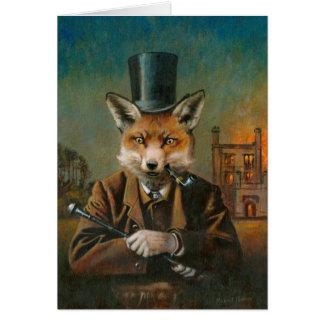 La carte de voeux pimpante de Fox