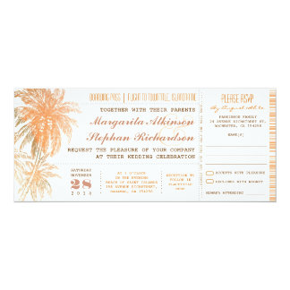 la carte d'embarquement étiquette des invitations