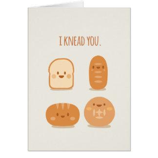 La carte drôle | de Saint-Valentin j'ai besoin de