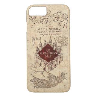 La carte du maraudeur du charme   de Harry Potter Coque iPhone 8/7