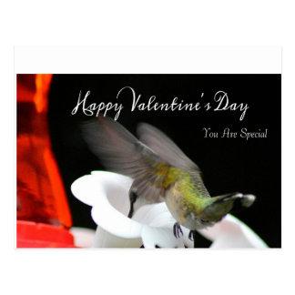 La carte postale 2 de Valentine de colibri