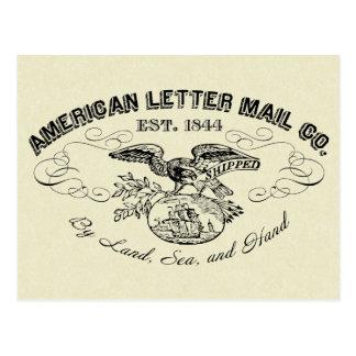 La carte postale d'American Letter Mail Company