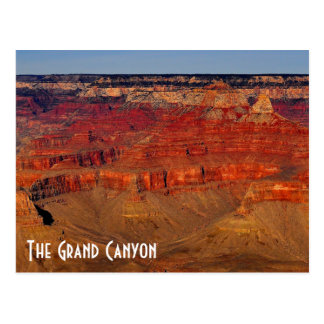 La carte postale de canyon grand