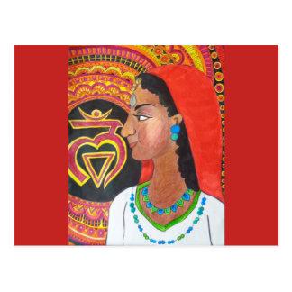 La carte postale de Chakra de racine (fuite)