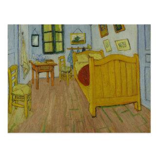 La carte postale de chambre à coucher