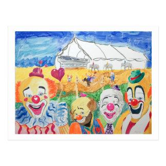 La carte postale de cirque