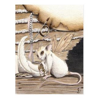 La carte postale de pendentif
