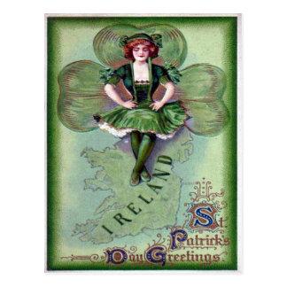 La carte postale de St Patrick