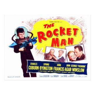 La carte postale d'homme de Rocket