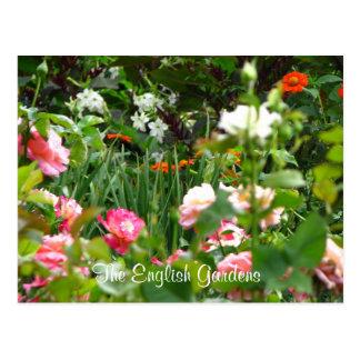 La carte postale du jardin anglais