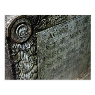 La carte postale en pierre de Jacob