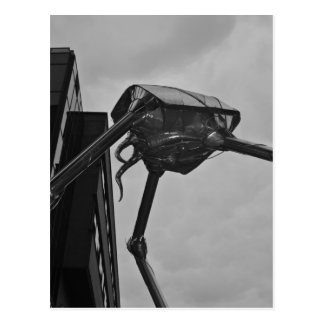 La carte postale martienne de sculpture