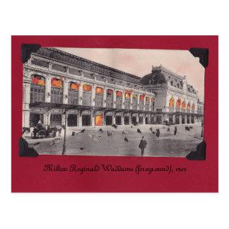 La carte postale première génération de Milton
