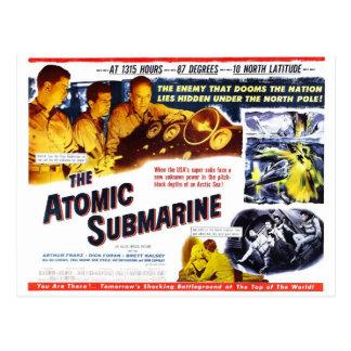 """"""""""" La carte postale submersible atomique"""