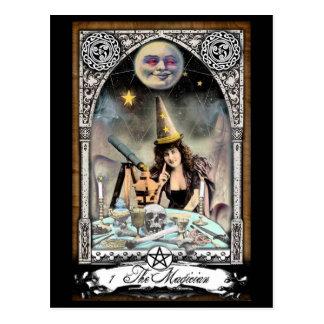 La carte postale victorienne de carte de tarot de