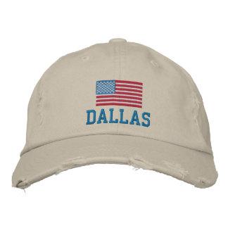 La casquette de baseball des hommes de Dallas