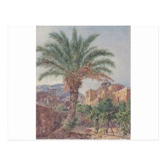 La cathédrale de Capri par Rudolf von Alt Cartes Postales