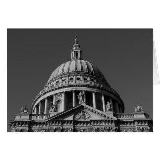 La cathédrale Londres de St Paul Cartes De Vœux