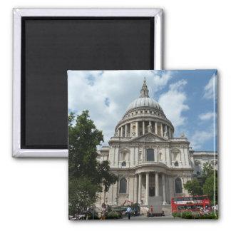 La cathédrale Londres de St Paul Magnets Pour Réfrigérateur