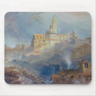 La cathédrale, Sienne, 1902 Tapis De Souris