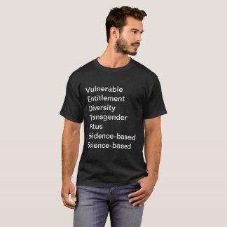 La CDC interdite exprime le T-shirt