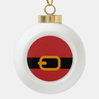 La ceinture de Père Noël Boule En Céramique