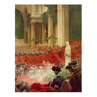 La cérémonie au Panthéon Carte Postale