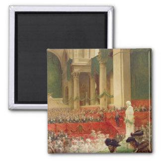 La cérémonie au Panthéon Magnet Carré