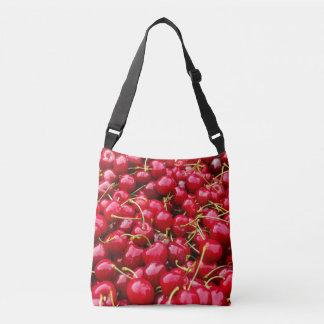 la cerise rouge mignonne délicieuse porte des sac