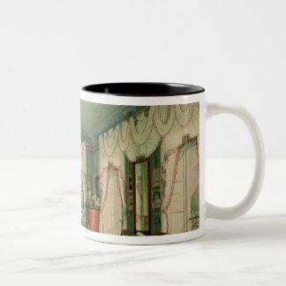 La chambre à coucher d'Elizabeth de la Bavière Mug Bicolore