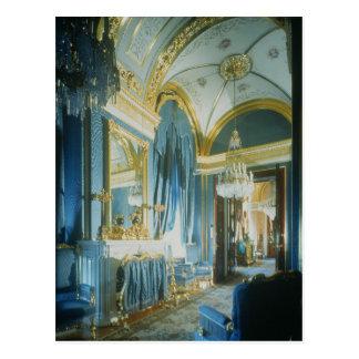 La chambre à coucher du tsar dans les appartements carte postale