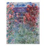 La Chambre chez Giverny sous les roses, 1925 Poster