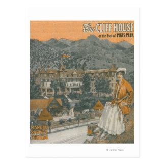 La Chambre de falaise et la crête de brochets Carte Postale