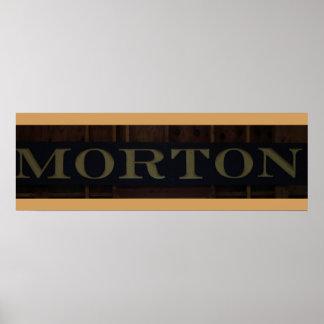 La Chambre de Morton Affiche