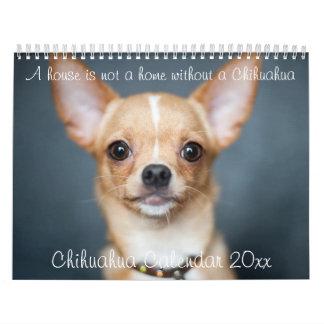 La Chambre du calendrier 2018 de chiwawa n'est pas