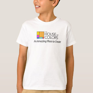 La Chambre du T-shirt d'enfants de couleurs