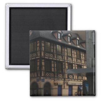 La Chambre Strasbourg France de Kammerzell Magnet Carré