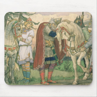 La chanson de prince Oleg, 1899 Tapis De Souris