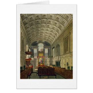 La chapelle allemande, le palais de St James, 'du Carte De Vœux