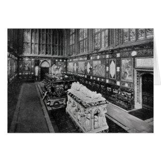 La chapelle commémorative d'Albert, Windsor Carte De Vœux