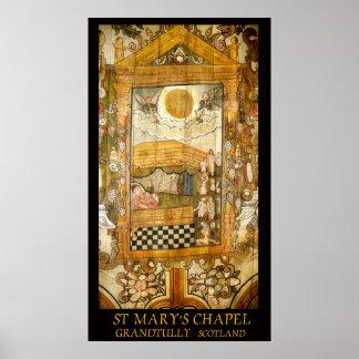 la chapelle grandtully Ecosse de St Mary