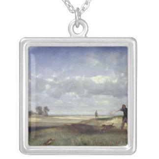 La chasse, 1847 pendentif carré
