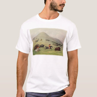 La chasse de Buffalo, c.1832 T-shirt