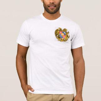 La chemise arménienne moyenne des hommes t-shirt