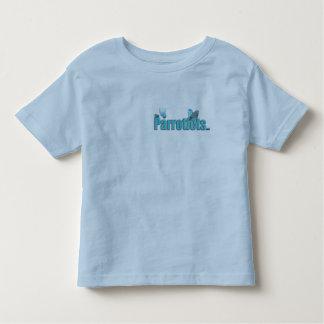 La chemise bleue de sonnerie d'enfant en bas âge t-shirts