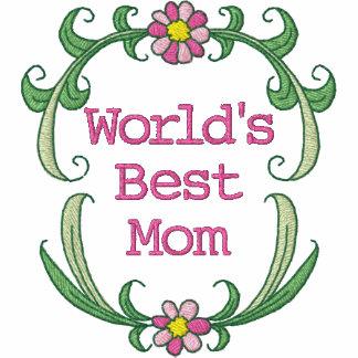 La chemise brodée la meilleure par maman du monde polos brodés